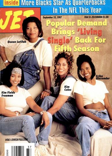 jet magazine 1997 � still living single
